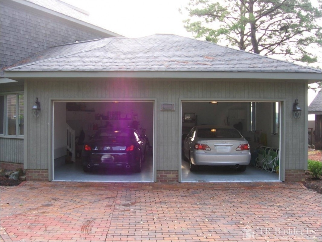 2 Car Garage Addition T R Builder Inc
