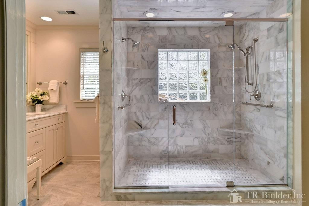 Master Bathroom Repair Remodel In Newport News T R Builder Inc