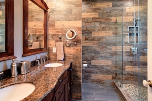Modern Bathrooms- Remodels of 2 bathrooms in 1 home in Newport News
