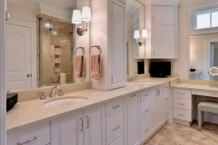 Master Bathroom in New Riverfront Home