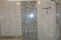 Window, Glass Tile Feature Wall, Shower Head