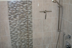 Walk-in shower after