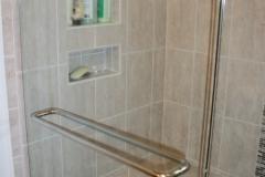 Tile nooks in shower