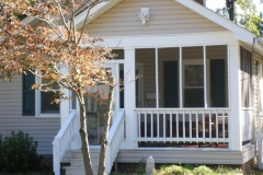 cottage front after