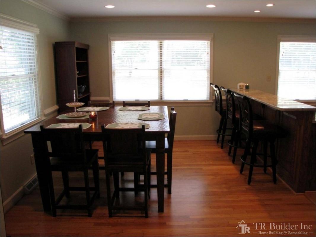 kitchen dining room makeover t r builder inc current kitchen dining room makeover after picture 1