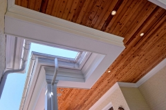 Custom Home- Knotty Pine Ceiling