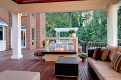 ipe deck, outdoor living, outdoor kitchen, outdoor fireplace, pergola