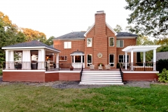 ipe deck, outdoor living, outdoor kitchen, outdoor fireplace