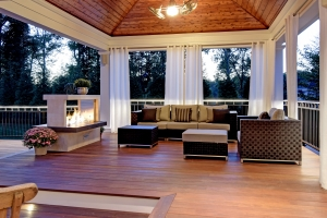 A Variety of Outdoor Living Styles